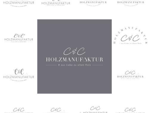 C&C HOLZMANUFAKTUR-Logoentstehung
