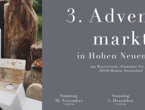 C&C HOLZMANUFAKTUR - 3. Adventsmarkt am 30. November und 1. Dezember 2019 in Hohen Neuendorf
