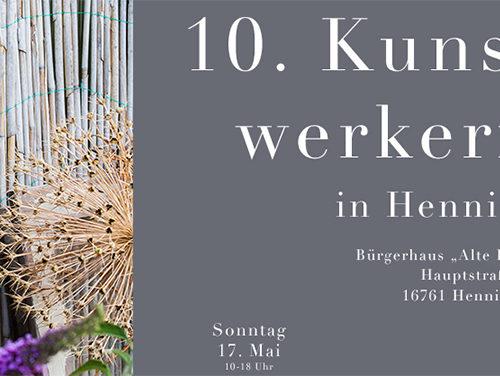 C&C HOLZMANUFAKTUR - 10. Kunsthandwerkermarkt am 17. Mai 2020 in Hennigsdorf