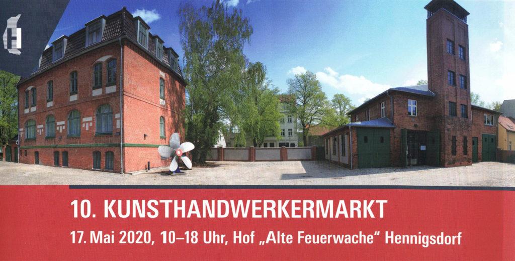 C&C HOLZMANUFAKTUR - Kunsthandwerkermarkt am 17. Mai 2020 in Hennigsdorf