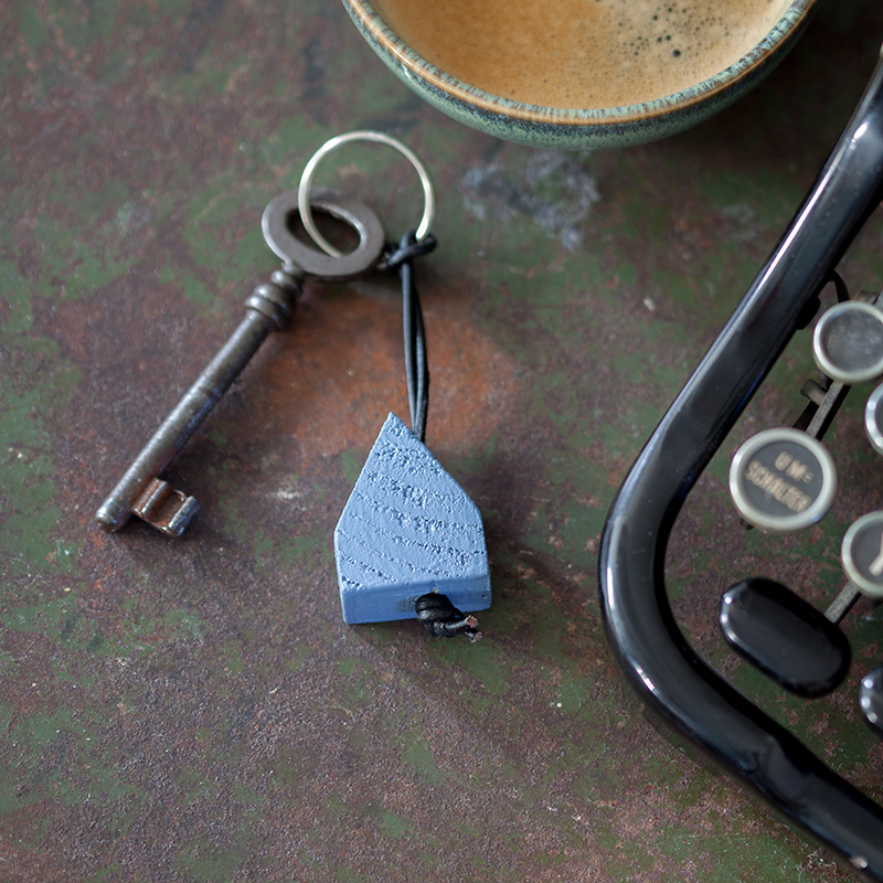 LYSEKIL - Schlüsselanhänger Blau